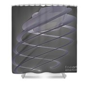 Jammer Delicate Auger Shower Curtain