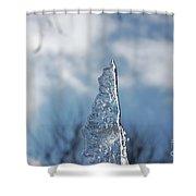Jammer Ice Sail 001 Shower Curtain