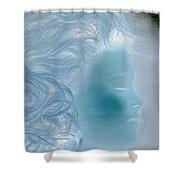 jammer MZ portrait 03 Shower Curtain