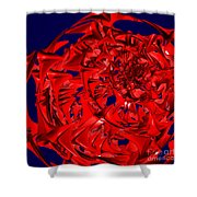 Jammer Rose 004 Shower Curtain