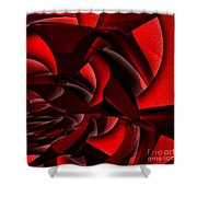 Jammer Rose 005 Shower Curtain