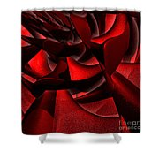 Jammer Rose 006 Shower Curtain