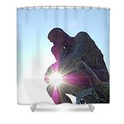 Jammer Sunny Thinker Shower Curtain