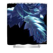 Jammer Turbo Sheen 001 Shower Curtain