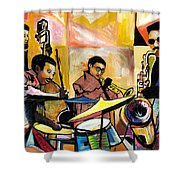 Jammin N Rhythm Shower Curtain