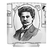 Jan Szczepanik (1872-1926) Shower Curtain