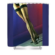 Jane Legs 1-1 Shower Curtain