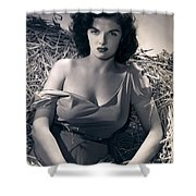 Jane Russell Shower Curtain