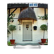 Janes Cottage Nether Wallop Shower Curtain