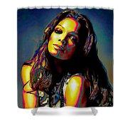Janet Jackson Shower Curtain