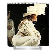 Janet Jackson Shower Curtain