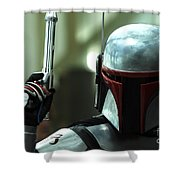 Jango Fett Shower Curtain