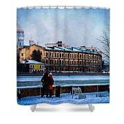 January Afternoon Shower Curtain