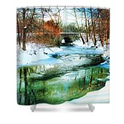 January Thaw Shower Curtain