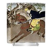 Japan Boshin War, 1868 Shower Curtain
