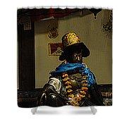 Japanese Buddhist Shrine With Bodhisattva 03 Shower Curtain