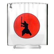 Japanese Bushido Way Of The Warrior Shower Curtain