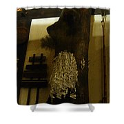 Japanese Country Home Dinning Room Shower Curtain