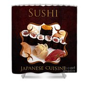 Japanese Cuisine Gallery Shower Curtain