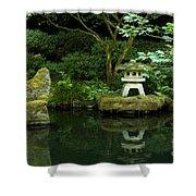 Japanese Garden Calmness Shower Curtain