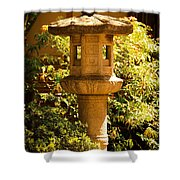 Oriental Lantern Shower Curtain