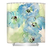 Japanese Quince 1 Shower Curtain