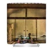 Japanese Tea Room Shower Curtain