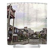 Japantown - Nihon Machi - San Francisco Shower Curtain