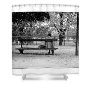 Jardin De Tuileries Shower Curtain
