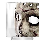 Jason's Phone Shower Curtain