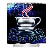 Java Plus Shower Curtain