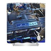Javelin Sst V-8 Engine Shower Curtain