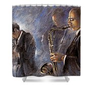 Jazz 01 Shower Curtain