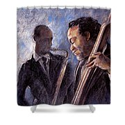 Jazz 02 Shower Curtain