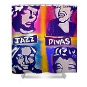 Jazz Divas  Shower Curtain
