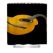 Jazz Guitar 2 Shower Curtain