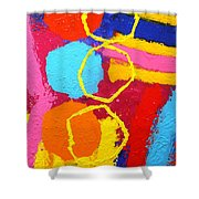 Jazz Process IIi Shower Curtain
