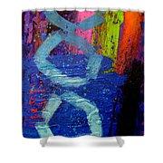 Jazz Process - Improvisation Shower Curtain
