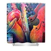 Jazz  Shower Curtain