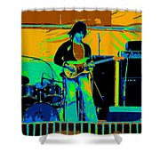 Jb #15 Enhanced In Cosmicolors Shower Curtain