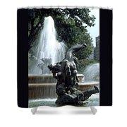 J.c.nichols Fountain 1 Kc.mo Shower Curtain