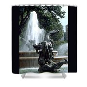 J.c.nichols Fountain 1 Kc.mo Shower Curtain