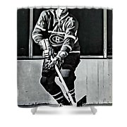 Jean Beliveau Shower Curtain