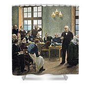 Jean Charcots Clinic Shower Curtain
