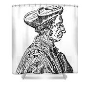 Jean Fernel (1497-1558) Shower Curtain