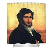 Jean-francois Champollion (1790-1832) Shower Curtain
