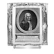 Jean Louis Petit (1674-1750) Shower Curtain