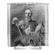 Jean Parisot De La Valette (1494-1568) Shower Curtain