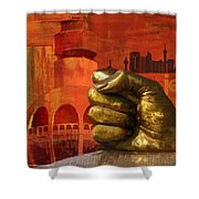 Jeddah Monument 01 Shower Curtain