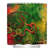 Jeddah Monument 02 Shower Curtain